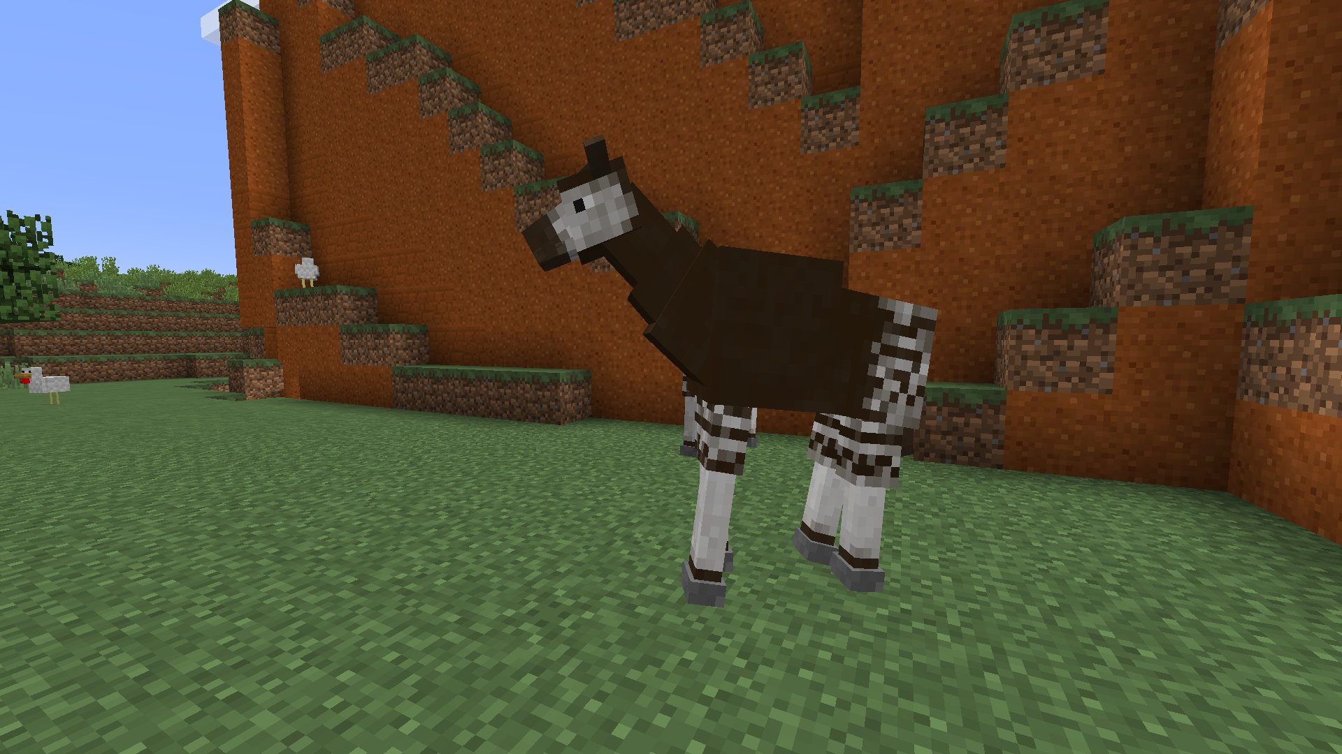 how to travel with animals in minecraft